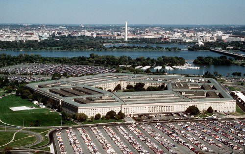 The Pentagon, US Dept of Defense Building (Wiki commons)